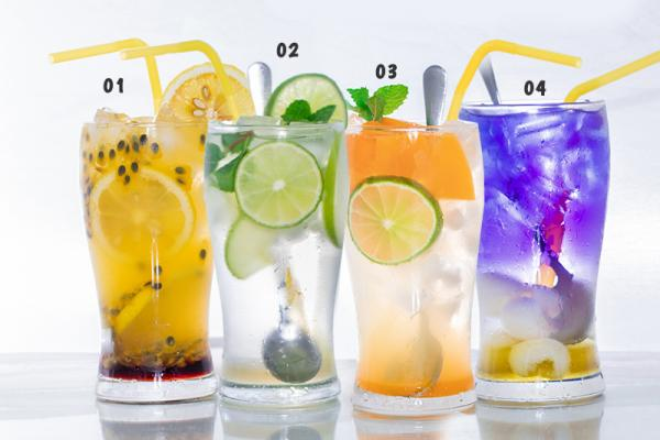 Seasonal Mocktails (Non - Alcoholic Drinks)